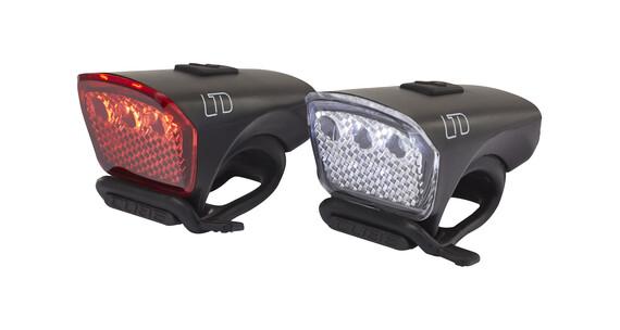 Cube LTD - Set luces a pilas - negro